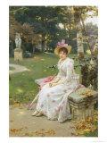 Love's Fair Garden Giclee Print by Wilhelm Menzler