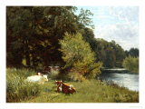 Soporific Summer Aftenoon Giclee Print by Leopold Rivers