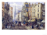 Eastgate Street, Chester, c.1895 Giclee Print by John Sutton