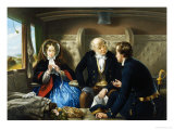 Travelling First Class: The Meeting Giclee Print by Abraham Solomon