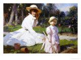 Ihr eigener Garten Giclée-Druck von John Richard Townsend