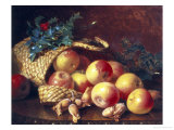 Christmas Fruit and Nuts Giclee Print by Eloise Harriet Stannard