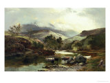 On the Falloch Giclee Print by Sidney Richard Percy
