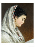 Reading Giclee Print by Joshua Hargrave Sams Mann