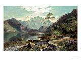 Loch Lomond, c.1871 Reproduction proc&#233;d&#233; gicl&#233;e par Sidney Richard Percy