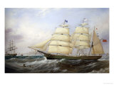 The Barque Egmont Giclee Print by John Scott