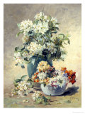 Vase of Spring Blossom Giclee Print by Edmond Coppenolle