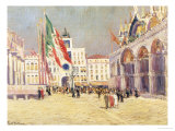 St. Mark's Square, Venice Giclee Print by Paul Mathieu