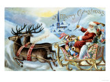 Merry Christmas! Wydruk giclee