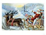 Merry Christmas! Lámina giclée