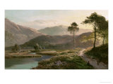 View of Ambleside, Westmoreland Giclee Print by Sidney Richard Percy
