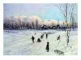 Winter Sports Giclee Print by Firthofj Smith-Hald