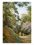 Flowery Glade Giclee Print by Alfred Parsons