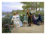 Eligible Suitor Giclee Print by Adrien Moreau