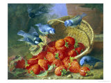 Feast of Strawberries Reproduction procédé giclée par Eloise Harriet Stannard