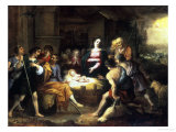 Nativity Giclee Print by Willem Van Herp