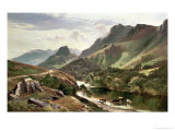 Borrowdale, Cumberland Giclee Print by Sidney Richard Percy