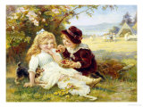 Cherry Earrings Giclee Print by Frederick Morgan