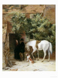The Gamekeeper&#39;s Courtship Giclee Print by George B. O&#39;neil