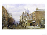 View of Chester Giclee Print by Louise J. Rayner