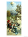 The Spectacle Giclee Print by Emile Antoine Bayard