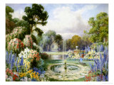 Romantic Garden Lmina gicle por John Macpherson