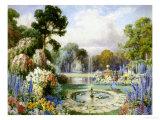 Romantic Garden Giclee Print by John Macpherson