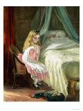 Sshh Giclee Print by George B. O'neil