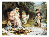 Enough and More to Spare Giclee Print by Frederick Morgan
