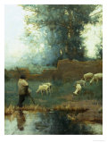The Shepherd Giclee Print by C.w. Furse