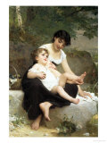 Motherly Love Giclee Print by Emile Munier