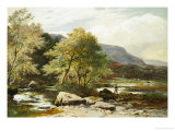 The River Conway, North Wales Giclee Print by Sidney Richard Percy