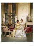Shared Confidence Impression giclée par Joseph Frederic Soulacroix
