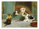Just Good Friends Giclee Print by John Dollman