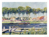 Summer's Day at Sluis Giclée-tryk af Paul Mathieu