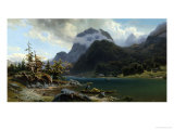 Lake Hintersee, Haute Bavaria Giclee Print by Francois Roffiaen