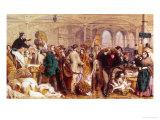 Billingsgate, c.1861 Giclee Print by George Elgar Hicks