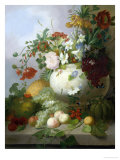 Vase of Summer Flowers Giclee Print by Joseph Rhodes