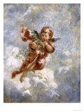 The Seasons: Winter Giclee Print by Charles Lutyens