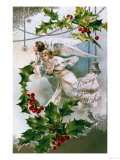 Loving Christmas Wishes Giclee Print