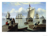 Shipping in the Humber Giclee Print by John Of Hull Ward