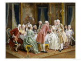 The Engagement Giclee Print by August Knoop
