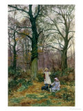 Spring Outing Giclee Print by Lionel Percy Smythe