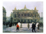 The Opera in Paris Giclee Print by Frantz Charlet