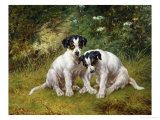 Inquisitive Pair Giclee Print by George Augustus Holmes