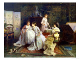 Afternoon Tea Giclee Print by Alexander Rossi