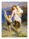 Day at the Seaside Giclee Print by Frederick Morgan