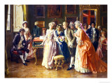 The Music Lesson Giclee Print by Federigo Andreotti