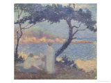 Bathers on the Seashore Giclee Print by Théo van Rysselberghe