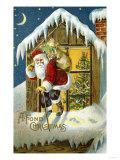 Fond Christmas Giclee Print